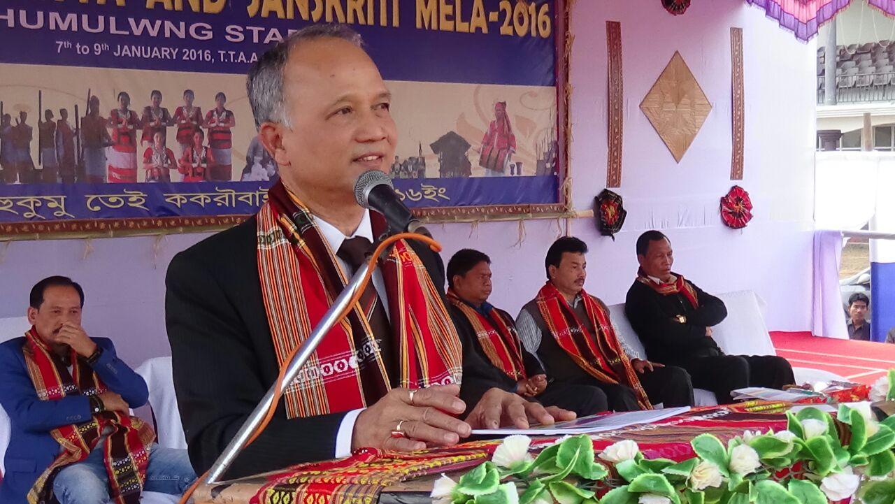 Speech by Secretary, T.W. Sri L. H. Darlong