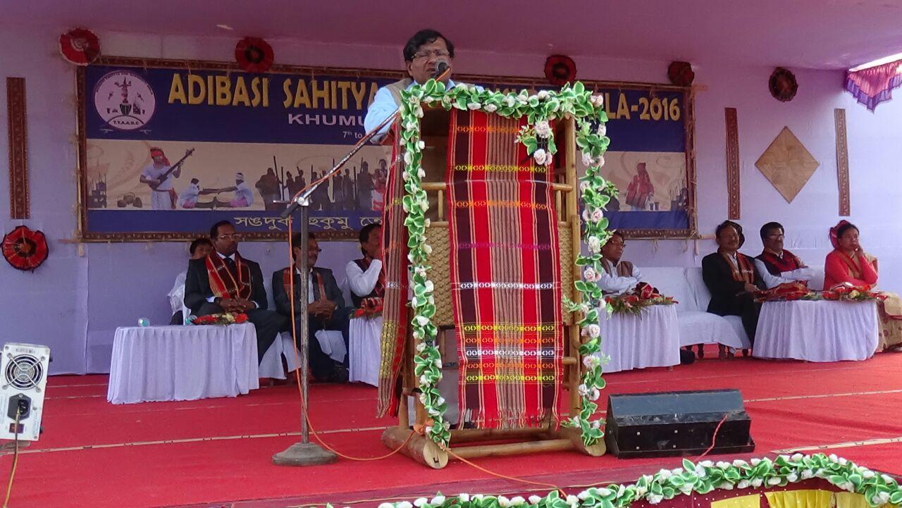 Speech by Hon'ble Minister Transport & Power, Tripura during Tripura Tribal Festival, 2016