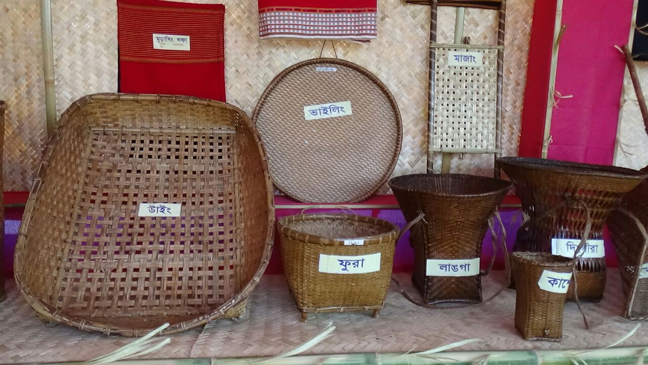 Exhibit Households instruments of the tribes of Tripura
